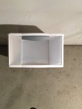Sterilite White Plastic Storage Tote Drawer in Naperville, Illinois