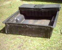 Truck Bedliner and Lock Tool Box with key in Warner Robins, Georgia