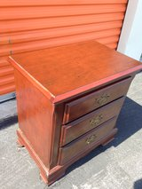Mahogany style small chest or night stand in Camp Lejeune, North Carolina