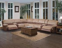 LARGE SECTIONAL POWER RECLINER MEMORY FOAMS SEATS WAS $2499 NOW ONLY in San Bernardino, California