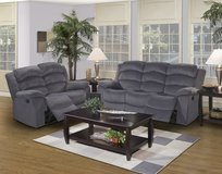 NEW SOFA AND LOVE SEAT WITH RECLINERS WAS $1199 NOW ONLY in San Bernardino, California