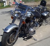 2003 Harley Fatboy Softail 100th anniversary model, price reduced in Mountain Home, Idaho