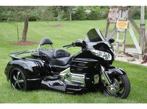 2008 Honda Gold Wing GL 1800 Trike with Hannigan Kit in Warner Robins, Georgia