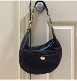 Coach purse - black/teal in Alamogordo, New Mexico