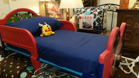 Mickey mouse toddler bed with mattress in Lake of the Ozarks, Missouri