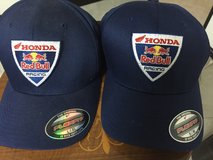 Honda Red Bull Racing Pit Shirt and Hats in Okinawa, Japan