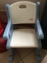 rocking chair for a little boy( little tikes) in Spangdahlem, Germany