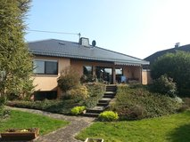 First class: confortable free standing  House with large Terrasse and big Garden locat... in Spangdahlem, Germany