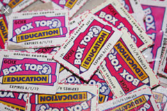 We are looking for box tops in Cherry Point, North Carolina