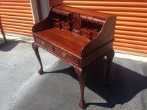 Mahogany Chippendale Desk N Chair in Camp Lejeune, North Carolina
