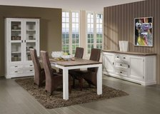 CARY Dining Set -Includes Delivery Italy - monthly payments possible in Vicenza, Italy