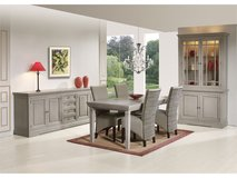 Household Package - Luxus #2 - Oak Dining Set witn matching TV Stand and Extra Large Sectional in Vicenza, Italy