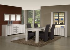 Household Package #4 - Complete Dining Set + TV Console + Living Room Set in Vicenza, Italy