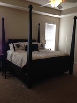 king size bed (mattress and bedding not included) in Kingwood, Texas