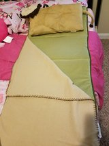 Nap mat with pillow and blanket in Houston, Texas