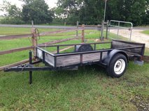 GOOD SOLID 4x8 TRAILER in Liberty, Texas
