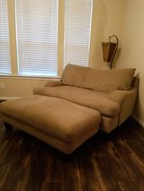 Loveseat and ottoman in Kingwood, Texas