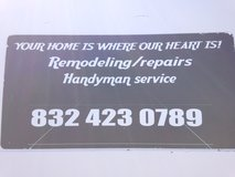 Home repairs/Handyman 832-423-0789 in Huntsville, Texas