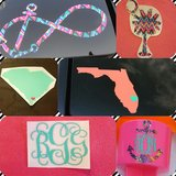 Decals and personalized items!! in Beaufort, South Carolina