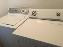 Washer and Dryer in El Paso, Texas