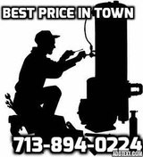 ******* WATER HEATER AND INSTALL***** REPAIR $25****** in Katy, Texas