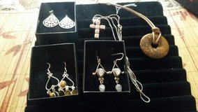 Real Stones! Earrings/necklaces in Alamogordo, New Mexico