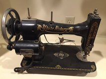 """Antique Sewing Machine - """"White Rotary Company"""" in Houston, Texas"""