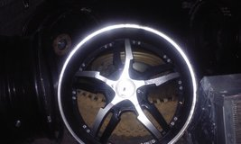 "20"" rims for $250, i am selling them because i got some new ones. On 2 of the rims they are slig... in Warner Robins, Georgia"