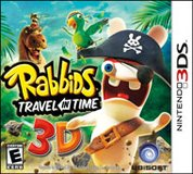 Nintendo 3DS 3DS Rabbids Travel In Time Video Game in Clarksville, Tennessee