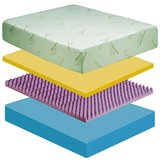 NEW QUEEN 12'' BAMBOO MEMORY FOAM MATTRESS WAS $1199 NOW ONLY in Fort Irwin, California