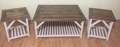 Custom made Coffee table and End tables in Conroe, Texas