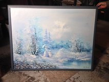 51x39 framed painting in Fort Drum, New York