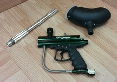 VL Triad Green & Black Paintball Gun Marker With Carrying Case Bundle in Camp Pendleton, California