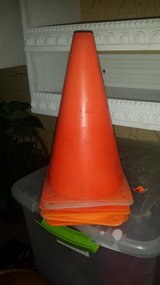 6 SMALL ORANGE CONES in Camp Lejeune, North Carolina