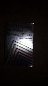 MLA Handbook for Writers of Research Papers, Sixth Edition in Houston, Texas