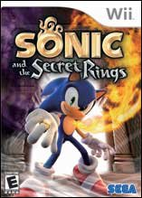 Wii Sonic and the Secret Rings Video Game in Clarksville, Tennessee