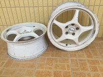 17 Inches Rims (2 pieces) ENKEI in Okinawa, Japan