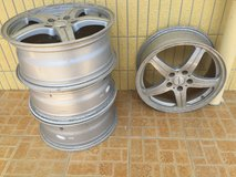 17 Inches Rims (4 pieces) in Okinawa, Japan