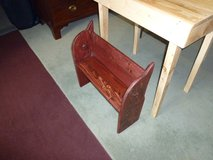 childs Pew victorian style hand made in Lakenheath, UK