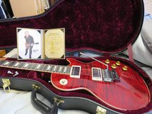 Gibson Custom Alex Lifeson Axcess Royal Crimson in Okinawa, Japan