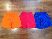3 Pairs of Unisex Sports Shorts Size 6-7 in Glendale Heights, Illinois