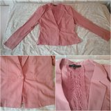 coral light jacket with lace application in Ramstein, Germany