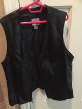 women's leather vest in Travis AFB, California