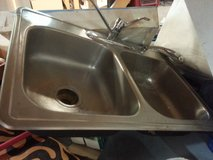 Double stainless steel sink in Beaufort, South Carolina
