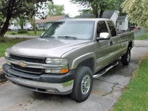 2002 Chevrolet Silverado 2500HD Extended Cab Duramax Diesel in Todd County, Kentucky