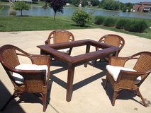 Reduced Pier One Table and Chairs in Belleville, Illinois