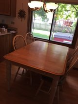 Kitchen Table with 6 chairs (4 shown) in Cary, North Carolina