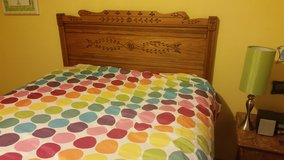 Bedroom set full size in Fort Carson, Colorado