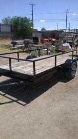 Trailer in Fort Bliss, Texas
