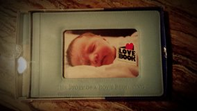 Story of a Boys Beginning Baby Book in San Angelo, Texas